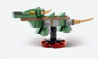 Barnes & Noble - Ninjago Movie Green Dragon Mini Model