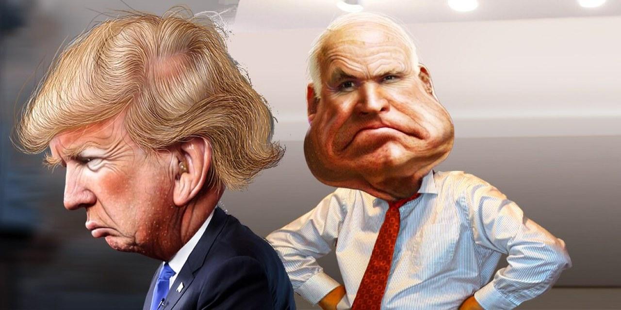 McCain Trump Issues