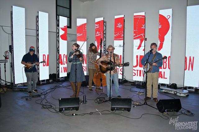 Folk Band at Festival
