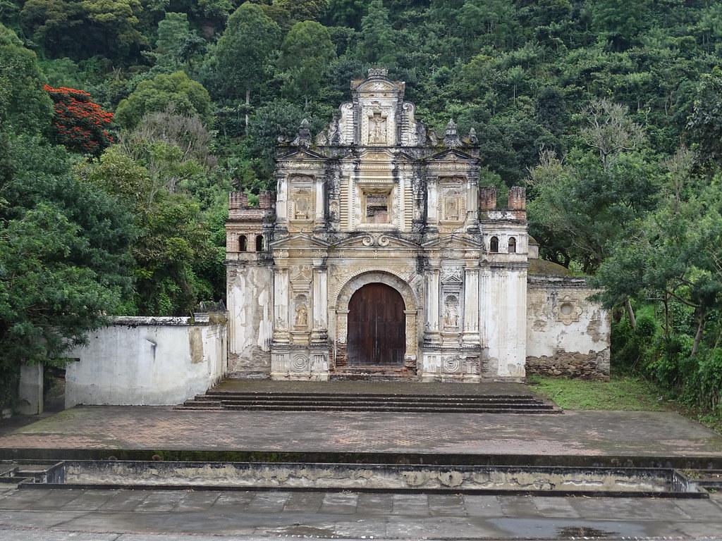 Antigua ruinas Ermita de Santa Cruz Guatemala 01