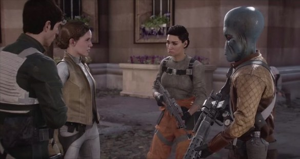 Star Wars Battlefront 2 - Iden Joins The Rebels