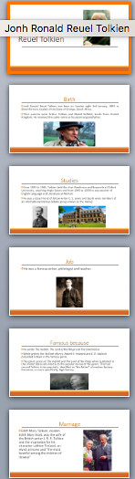 PROJECTS ON BIOGRAPHIES