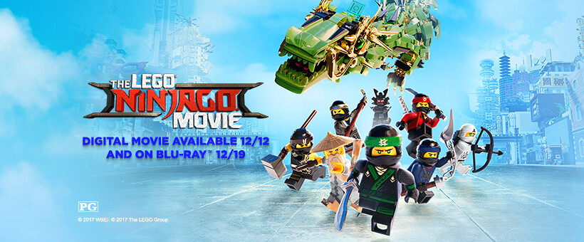 LEGO Ninjago Movie DVD i Blu-Ray datumi izdavanja