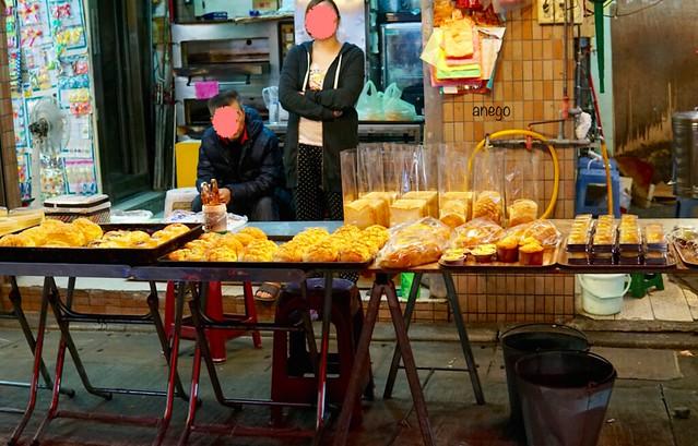 景美夜市 パン屋
