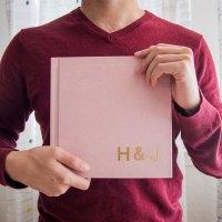 Review - Artifact Uprising Wedding Guest Book (Layflat Photo Album)