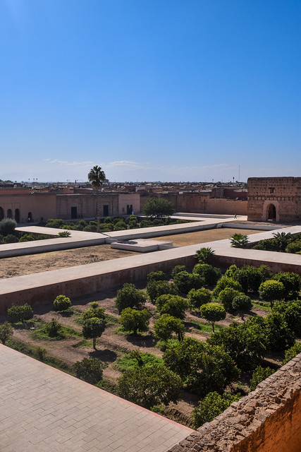 Central Courtyard of El Badi