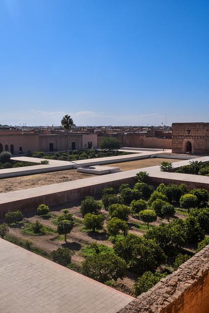 Central Courtyard of El Badi