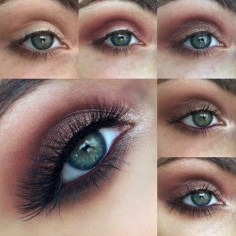 Best Ideas For Makeup Tutorials : Makeup Tutorials for Blue Eyes -articlespecifictitle -Easy Step By Step Beginner…
