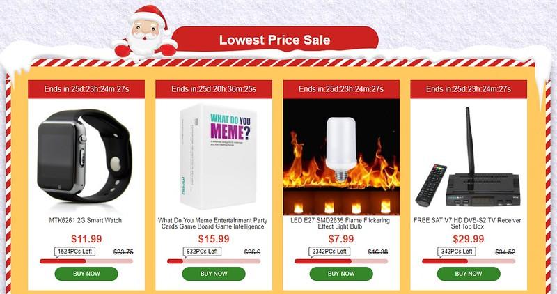 TOMTOP sale クリスマス (4)