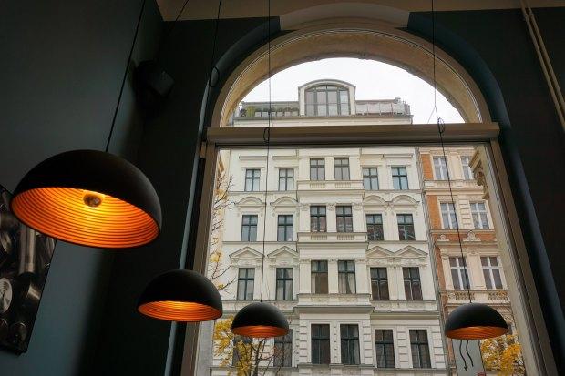 Die Espressonisten cafe, located in a former art gallery