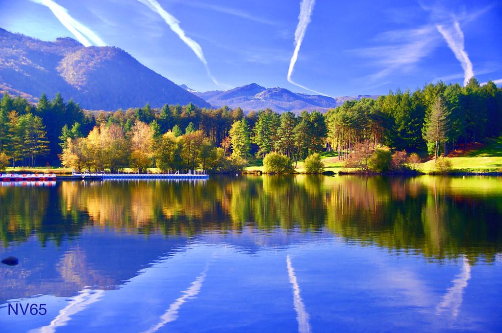 Signes du ciel - Lac de Lourdes (65)