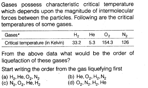 NEET Chemistry Chapter Wise Mock Test - States of Matter