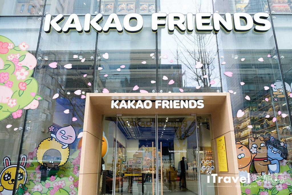 《首尔购物商场》Kakao Friends Store:弘大旗舰店2016年开幕