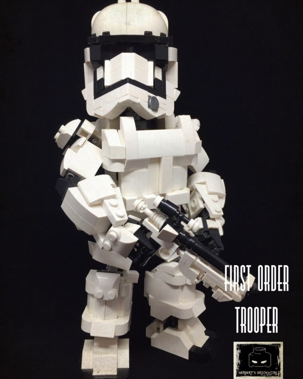 "I am "" First Order Trooper"""