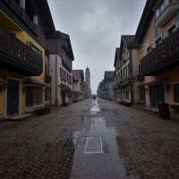 Tonghui Town - Abandoned Swiss town in Beijing.