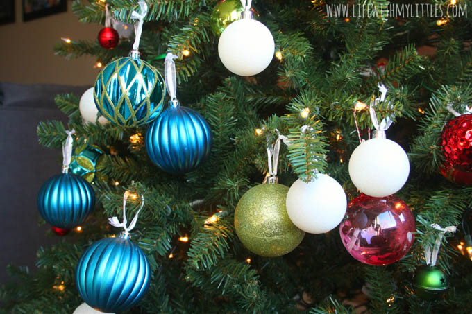 If you've got a baby or toddler this Christmas, this is a must-read! Tips on how to baby proof your Christmas tree from a mama of three!