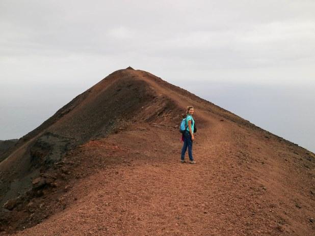 Volcan Teneguia en La Palma