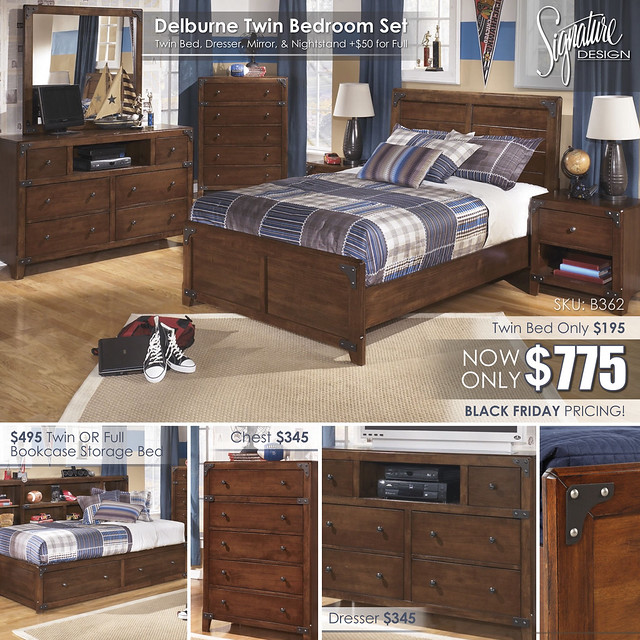 Delburne Twin Bedroom Collage_B362_BlackFriday