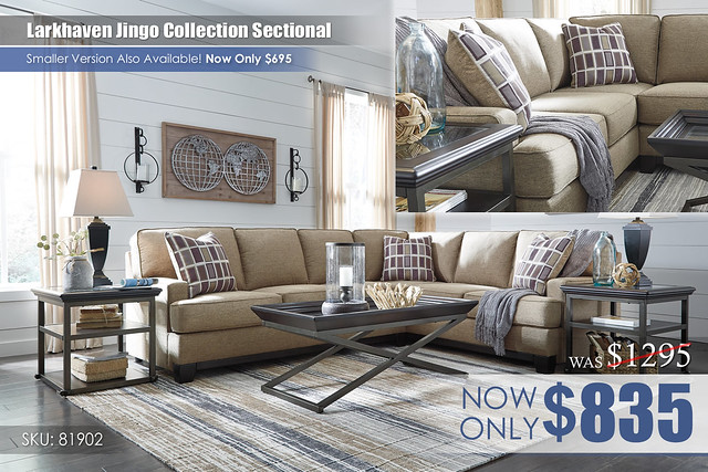 Larkhaven Jingo Collection Sectional LG 81902-66-49-T840-ALT