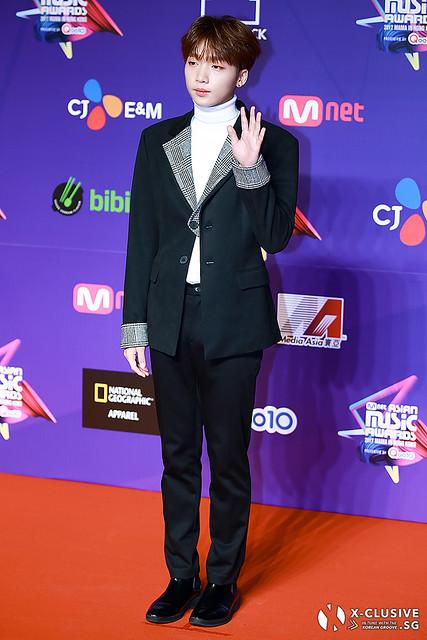 Jeong Se Woon at 2017 MAMA in Hong Kong