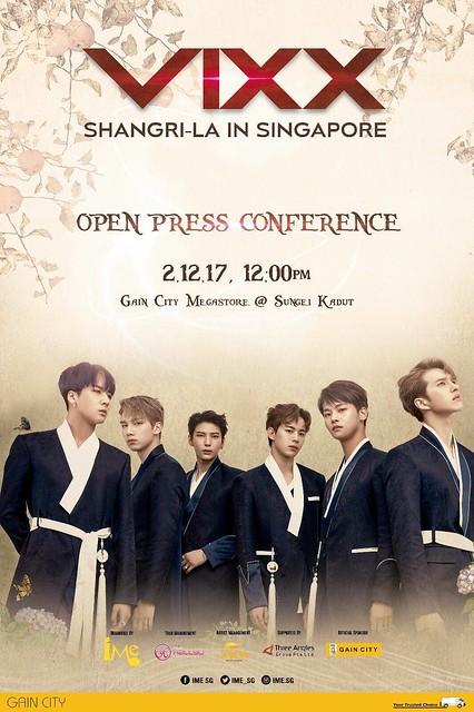 VIXX Shangri-La in Singapore Open Press Con