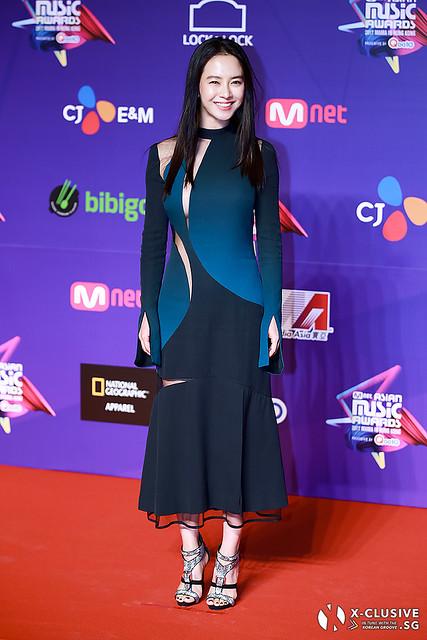 Song Ji Hyo at 2017 MAMA in Hong Kong