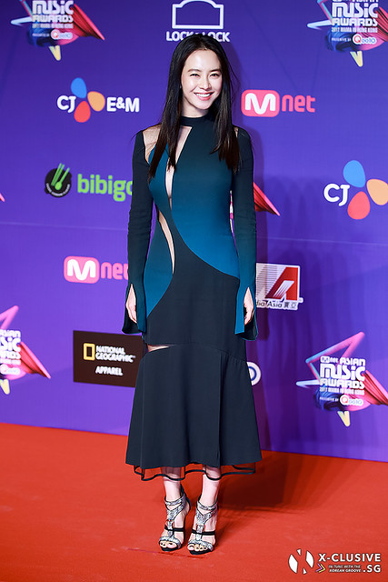 Song Ji Hyo at 2017 MAMA in Hong Kong