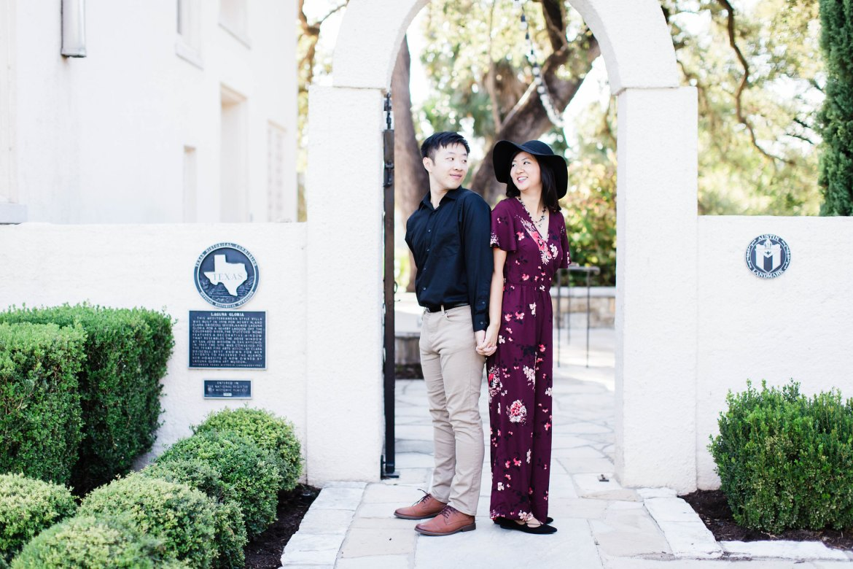 Engagement Photos Laguna Gloria Austin Texas
