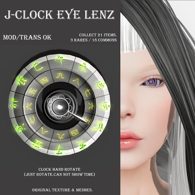 *NAMINOKE*J-Clock eye-lenz Gacha
