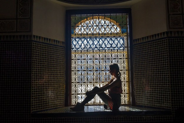 La Bahia Palace Silhouette