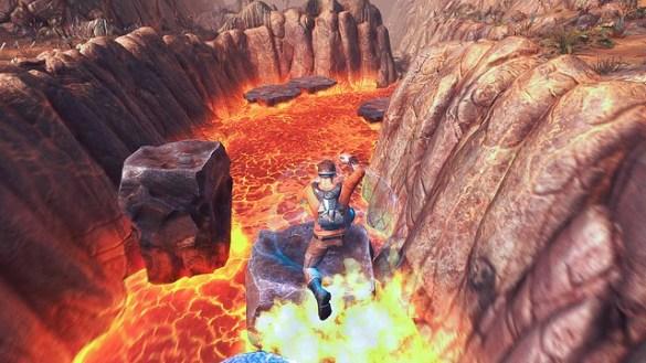 Outcast Second Contact - Lava Jumper