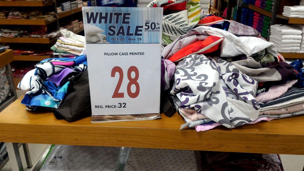 Metro White Sale 2