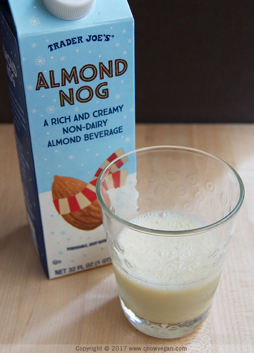 Overnight Oats with Almond Nog - Chow Vegan