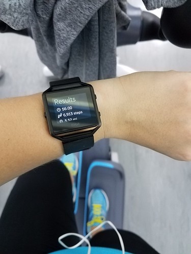 elliptical workout!