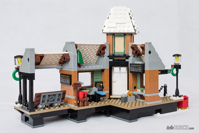 REVIEW LEGO Creator Expert 10259 Winter Village Station