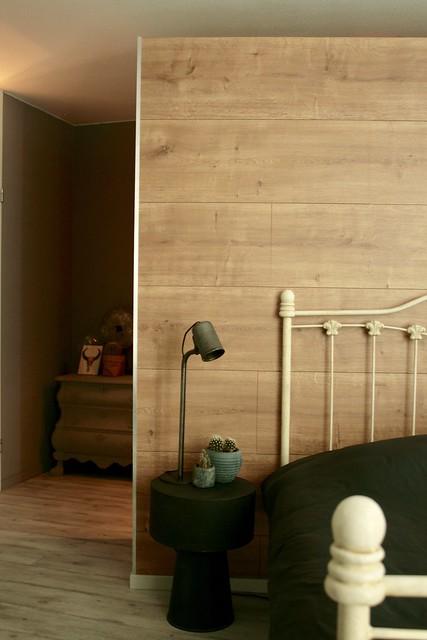 Slaapkamer landelijke stijl