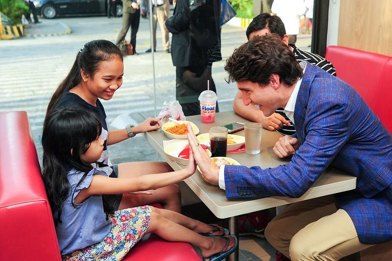 PM Trudeau at JB 7