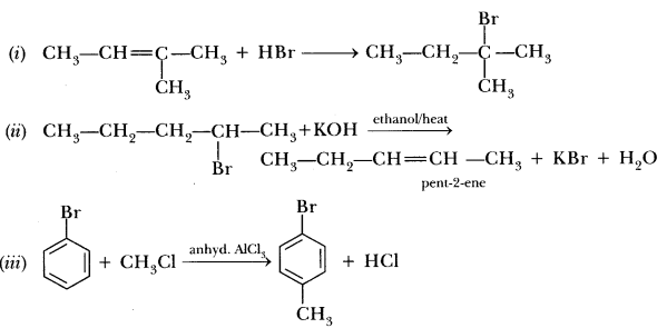 Important Questions for CBSE Class 12 Chemistry - Haloalkanes and