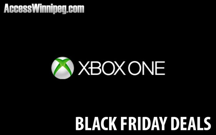 XBOX One Canadian Black Friday Deals 2017