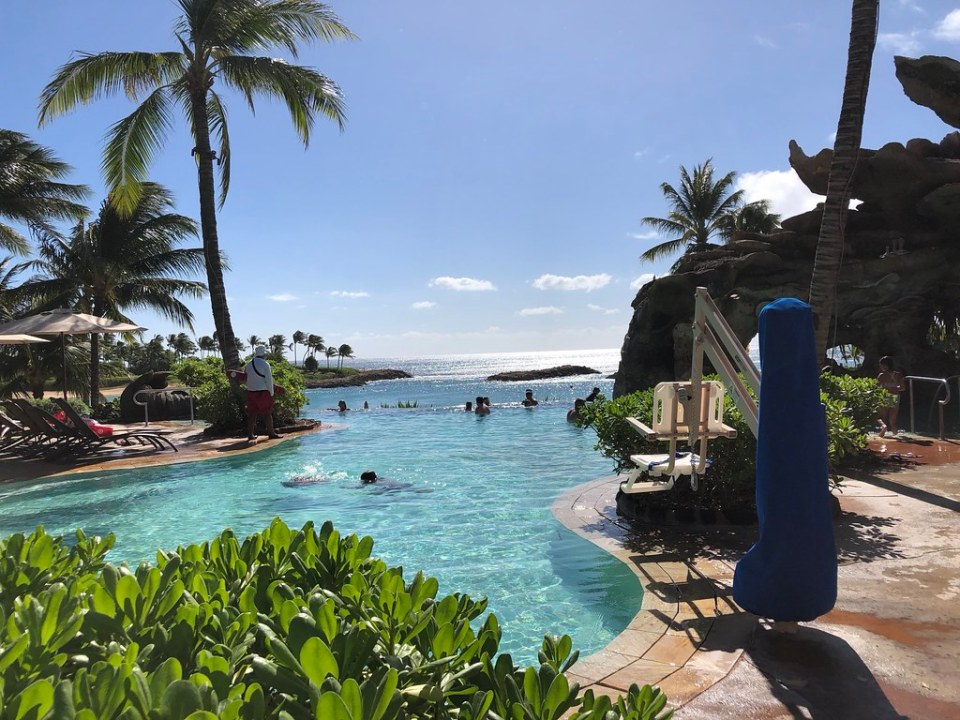 Infinity Pool at the Aulani