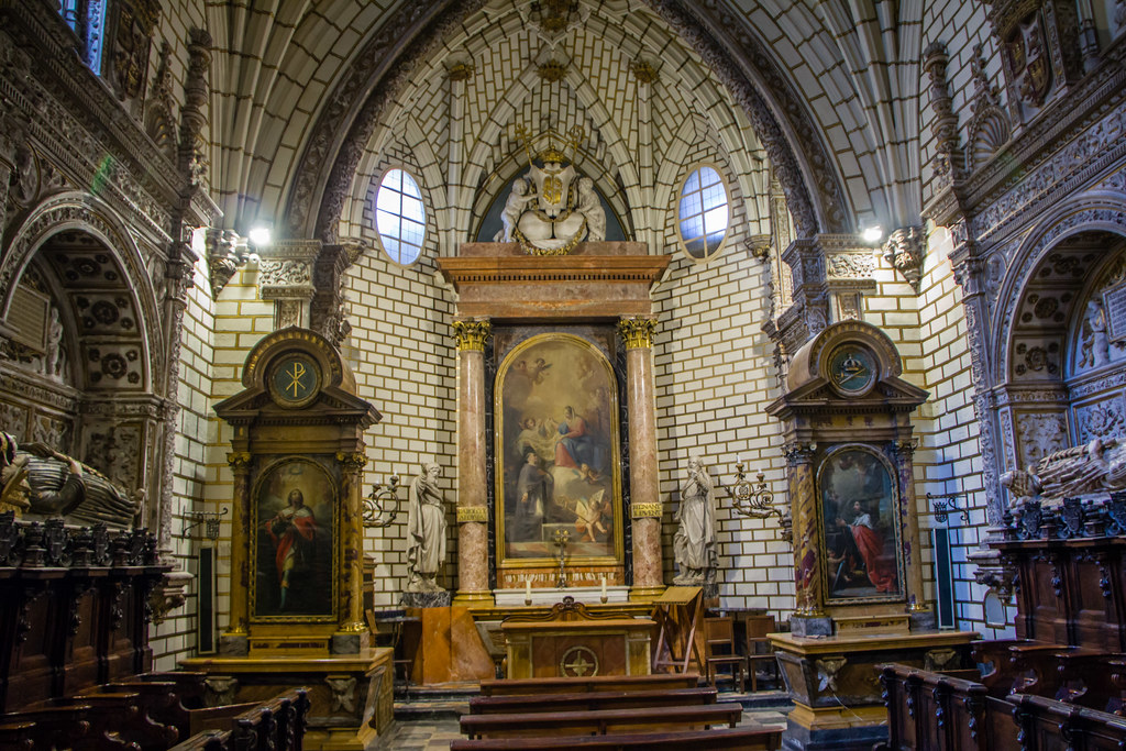 Capilla de los Reyes Nuevos Catedral de Toledo 01