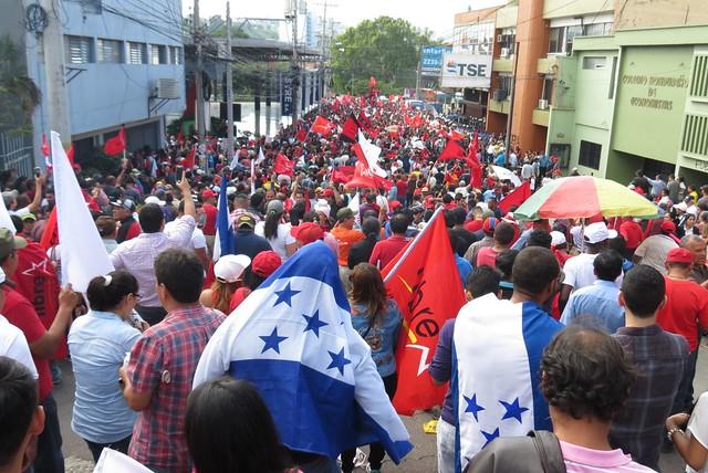 Contra a fraude da ditadura em Honduras