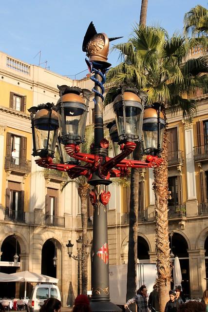 Todas las obras de Gaudí en Barcelona