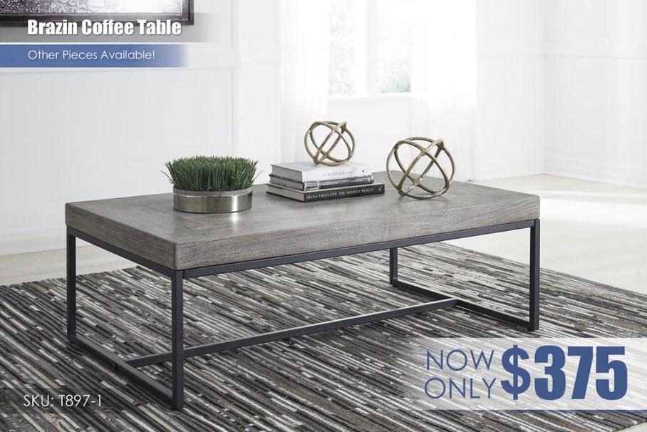 Brazin Coffee Table T897-1