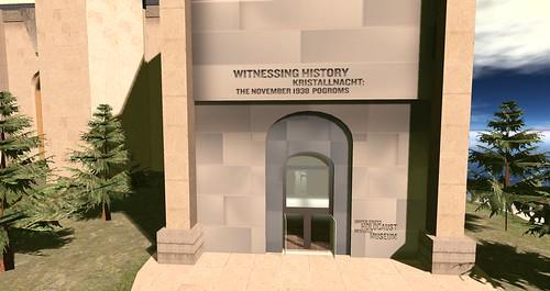 Holocaust Memorial Entrance