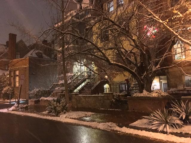 Snow on Corcoran