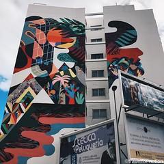 #streetart #colours #wall #santacruz #visitTenerife #wanderlust #tenerife #canaryisland #travel #travelgram #guardiantravelsnaps #islascanarias #spain #ig_europe #instatravel #vsco #vscocam #bbctravel #tourism #shotoniphone #explore #lovecanaryisland #ten