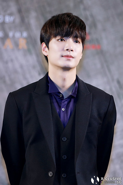 JR (Kim Jonghyun) of NU'EST W at Press Conference in Hong Kong
