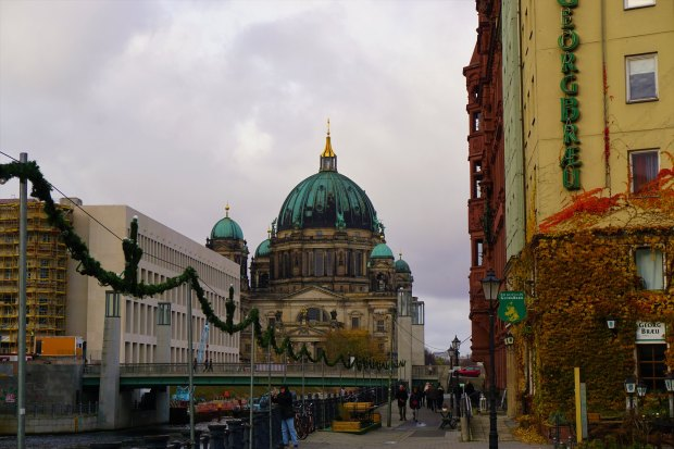 Berliner Dom seen from Spreeufer