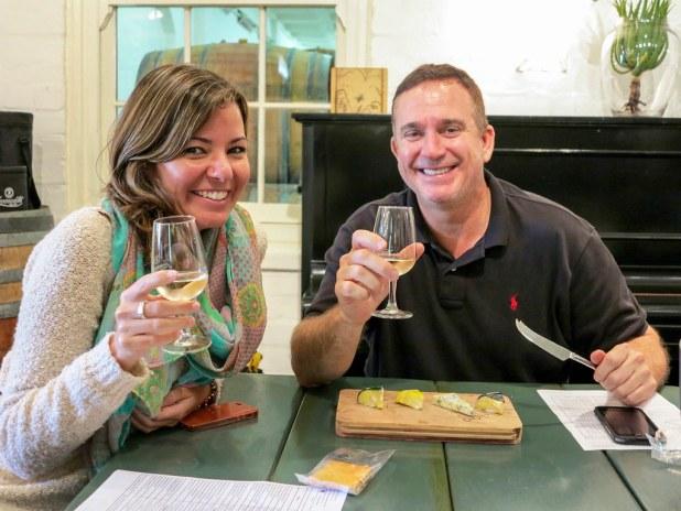 Cata de vinos en Sudáfrica